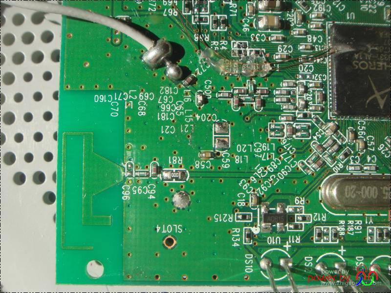 AR9331刮U改USB教程 刷OPENWRT